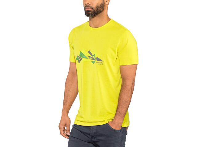 Schöffel Barcelona2 Camiseta Hombre, citronelle